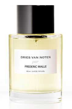 Dries van noten parfum frédéric malle http://www.vogue.fr/beaute/buzz-du-jour/articles/dries-van-noten-au-parfum/18059