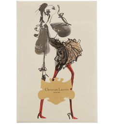 Haute Couture Illustrated Note Card Set