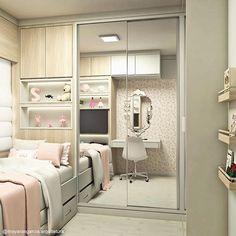 23 Clever DIY Christmas Decoration Ideas By Crafty Panda Girl Bedroom Designs, Room Ideas Bedroom, Small Room Bedroom, Bedroom Decor, Girls Bedroom, Home Room Design, Kids Room Design, Cute Room Decor, Dream Rooms