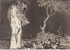 Francisco Goya, The Folly of Fear