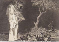 Francisco Goya, The Folly of Fear-1792
