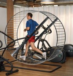 Would running in this wheel make running any more fun?