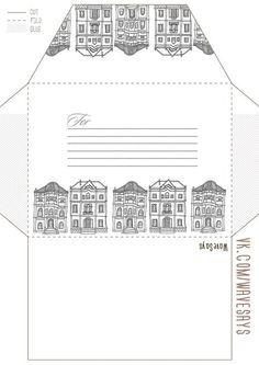 Стена Free Printable Stationery, Printable Letters, Printable Paper, Pocket Letters, Pen Pal Letters, Diy Envelope, Envelope Design, Sage Green Paint, Paper Tea Cups