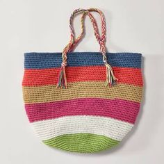 Häkelmuster: Tasche häkeln - eine Anleitung