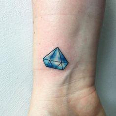 Little diamond #diamond #diamondtattoo #tattoo #tattooed #tattoos #tattoodesign #watercolor #watercolortattoo #colourtattoo #galaxy #cutetattoo #littletattoo #spiritualtattoo #wristtattoo #guyswithtattoos #girlswithtattoos #ink #inked #tats #tats #tattooartist #painting #abstracttattoo #drawing #art #artist #londontattoo #femaletattooartist