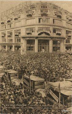 1852 - Le BON MARCHE - L'oeil.....