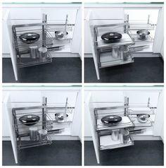 ferramenta per mobile da cucina ad angolo di hafele waco