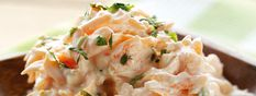 Esta receta de ensalada de zanahoria spicy es ideal para una ensalada de media tarde o como guarnición, una combinación deliciosa.