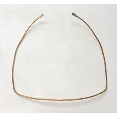 Square Hammered Necklace