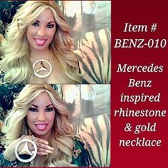 BENZ-010 ($35) Order by Email: IDRegalia.RoyalJewels@gmail.com