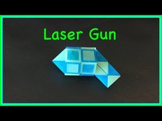 ▶ Rubik's Twist or Smiggle Snake Puzzle Tutorial: How to make a Laser Gun or Phaser Gun, step by step - YouTube
