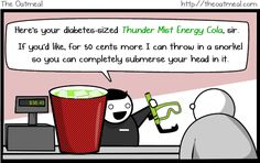 Thunder Mist Energy Cola at the movies