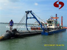 China Sand Dredge Pump Vessel (CSD 300) Photos & Pictures - Made ...