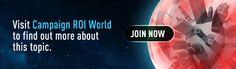 Campaign ROI World @eloqua #modernmarketer
