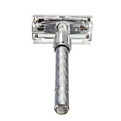 Traditional Men's Double-Edge Blade Safety Razor Hair Beard Silver Manual Shaver HJL2017 #Affiliate