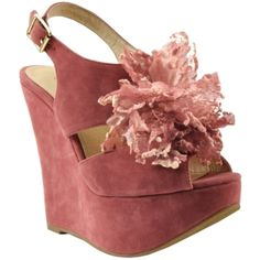 There is something soft, romantic, and feminine about these that I love.