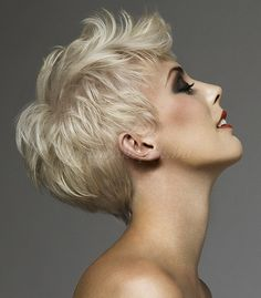 pixie cut, pixie haircut, cropped pixie - pixie haircut for fine hair Haircuts For Fine Hair, Pixie Haircuts, Pixie Hairstyles, Sassy Hair, Short Blonde, Blonde Pixie, Pretty Hairstyles, Blonde Hairstyles, Hairstyles 2016