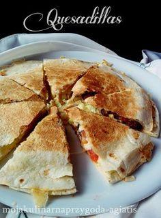 Moja kulinarna przygoda: Quesadillas Tortilla Rolls, Tasty, Yummy Food, Quesadillas, Food And Drink, Snacks, Cooking, Breakfast, Healthy