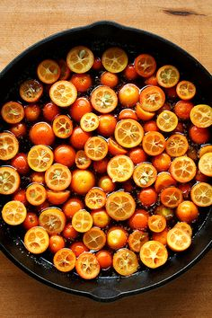 Kumquat Upside-Down Cake - Have a Kumquat tree in my back yard... they went to waste this year!  Great thing to try!