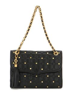 i'm obsessed with rebecca minkoff's bags this year. this one has a little bit of edge with some chanel inspiration.