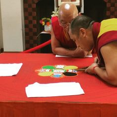 The is going great! Stop by the Phineas Banning house at Buddhist Monk, 80th Birthday, Dalai Lama, Buddha, Mandala, House, Image, Home, 80 Birthday