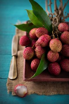 ♂ Food styling photography still life fruit Lychees...