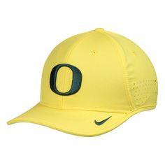 cheap for discount ee48c 6b1ab Oregon Ducks Nike Coaches Sideline Vapor Performance Adjustable Hat - Yellow  Coaches, Oregon Ducks Hat