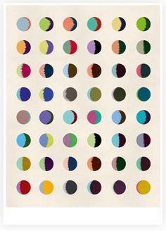One Month offset print - Hvass & Hannibal