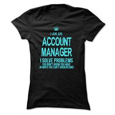 Im A/An ACCOUNT MANAGER
