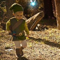 DIY The Littlest Link- Kid Legend of Zelda Costume DIY Halloween