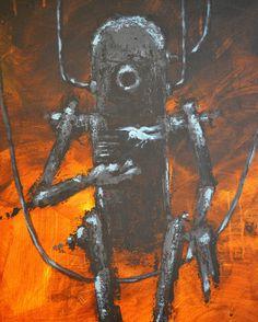 Iron Man - Robot Art Print