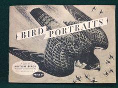 Original 1950s Brooke Bond Tea Cards - Bird Portraits - Complete Set In Album