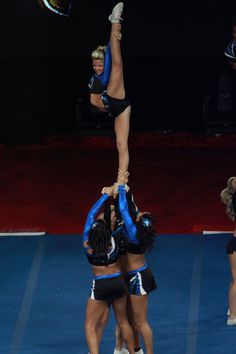 Maryland Twisters F5, naturally. Competing against them once at Nationals was such an honor! They scored higher, but there's nothing like stepping on the same floor as the very best!