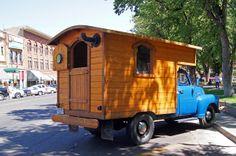 homemade campers pics | Prescott Area Daily Photo: Happy Camper