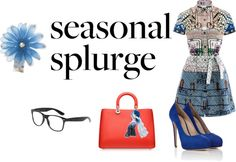 """Season splurg"" by wanda-sanchez-mercado on Polyvore"