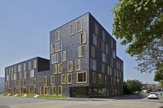 Social housing in Béthune, France by FRES Architects