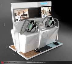Philips vacuum cleaner stand by Nikolay Grachev, via Behance