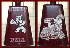 Classic Mississippi State University Cowbell - 1984