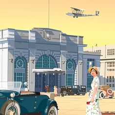 Art Deco Croydon Airport