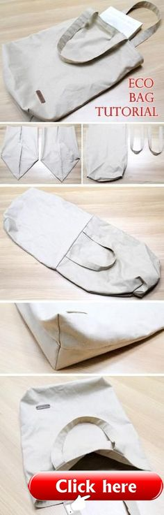 Eco-friendly Shopping Bag Tutorial Canvas Tote Shopping Eco Bag DIY Step by Step Photo Tutorial.Canvas Tote Shopping Eco Bag DIY Step by Step Photo Tutorial. Bag Sewing Pattern, Bag Patterns To Sew, Sewing Patterns, Tote Pattern, Sewing Hacks, Sewing Tutorials, Sewing Crafts, Sewing Projects, Sewing Tips