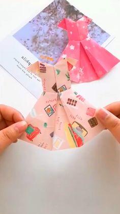 Diy Crafts Hacks, Diy Crafts For Gifts, Creative Crafts, Creative Artwork, July Crafts, Paper Crafts Origami, Paper Crafts For Kids, Diy Paper, Instruções Origami
