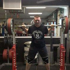...continuation of our FaceBook (MathiasMethod.com) Live video! Grueling Squats 5x8 with 355 (70%) $ MathiasMethod.com STRONGer-Store.com #MathiasMethod #STRONGer #STRONGerCoach #TeamSTRONGer @rockythemahoney @reidengland @tarantutank @highxground @jakeorcino @stronger_store @lizzy30h