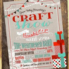 1000 Images About Craft Show On Pinterest Flyers New