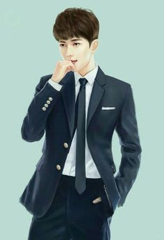 Yang Yang Actor, Romantic Anime Couples, Chinese Drawings, Handsome Anime Guys, Korean Art, Digital Art Girl, Cute Characters, Man Photo, Asian Men