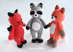 Cuddle Me Toys Amigurumi - Free crochet patterns
