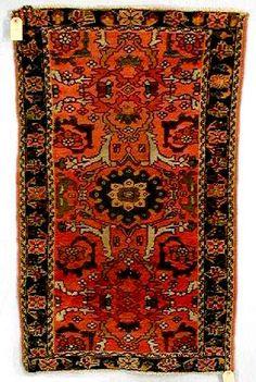 Lylyan Rugs: Lilihan Persian rug C. 1900-20 W&W