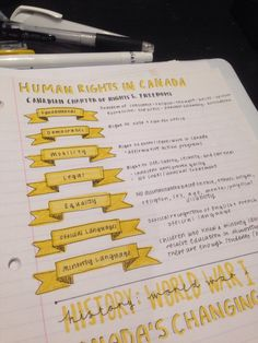 Um… I think I'm in love. | Community Post: 18 Gorgeous Study Notes That Should Be Framed As Art