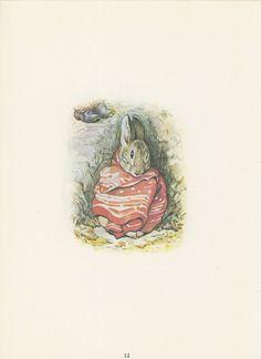Beatrix Potter The Tale Of Benjamin Bunny Benjamin by KingPaper, $10.00