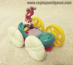 Tiny Toon Adventures McDonald's Happy Meal toy. Check out our flickr at http://www.flickr.com/photos/ragingnerdgasm/sets/72157631845887055/