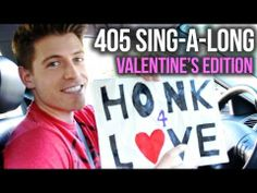 HIGHWAY 405 SING-A-LONG: Valentine's Edition- By TJ Smith- you can't help but smile and maybe even sing along :-)